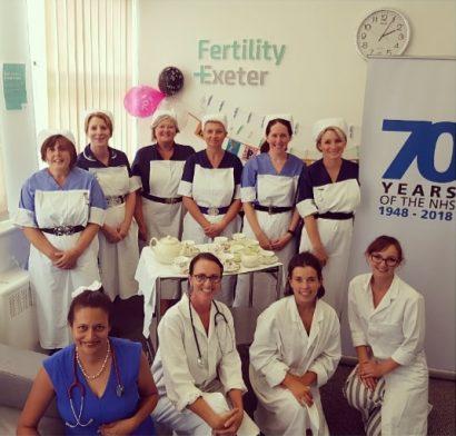 NHS 70 Fertility Exeter
